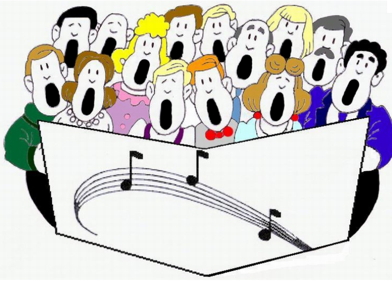 Dessin chorale png
