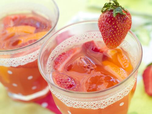 Jus de fraises1