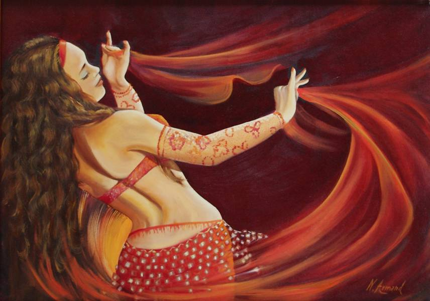 Nathalie armand danseuse orientale 600