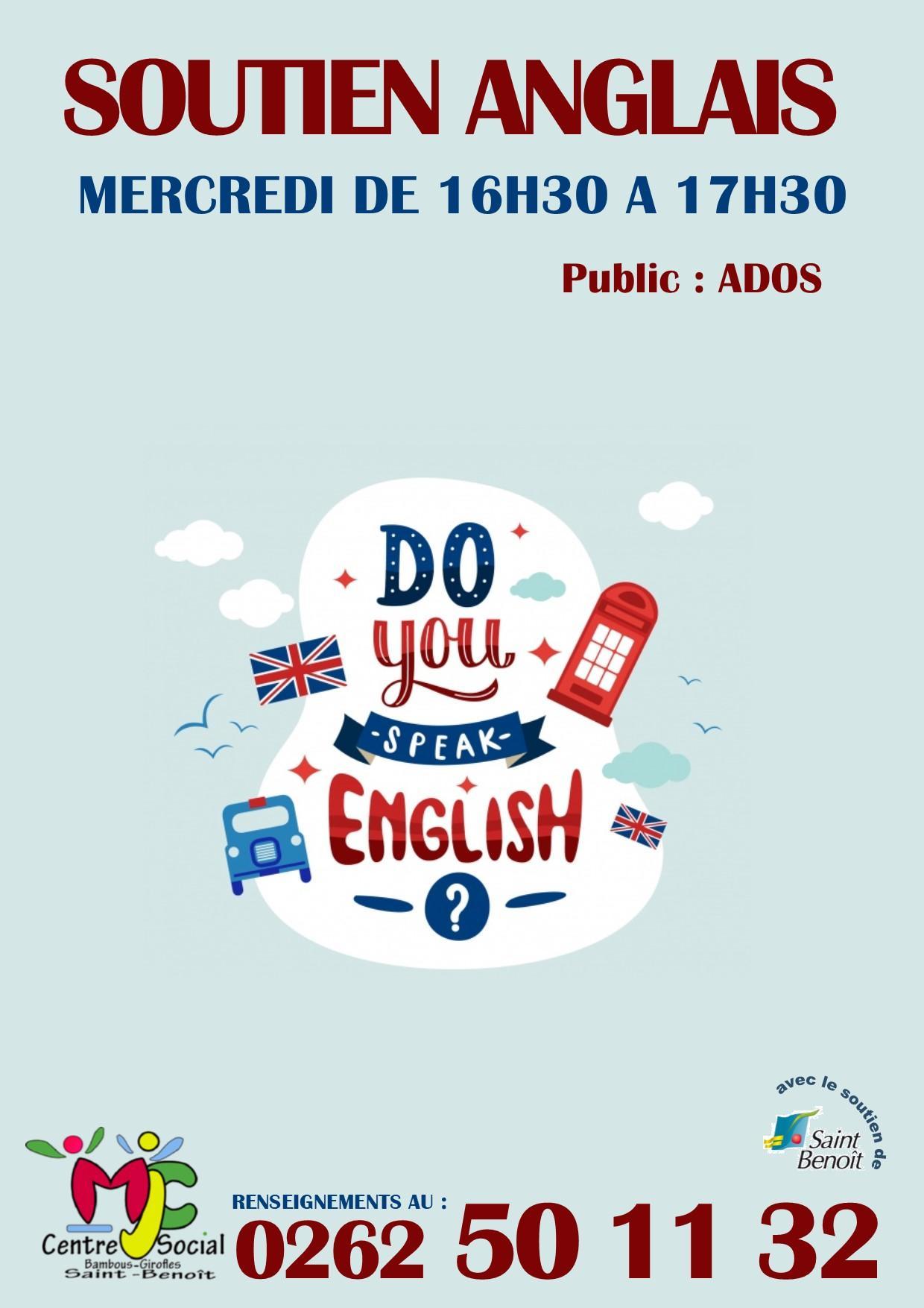 Soutien anglais